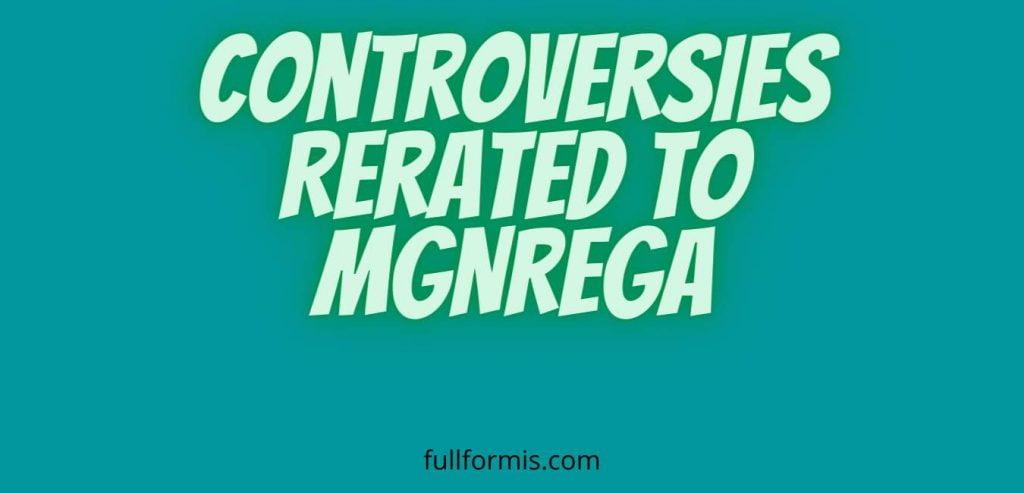 mgnrega full form