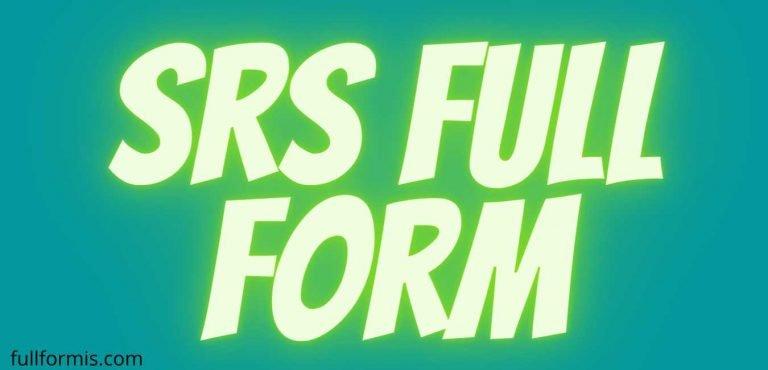 srs full form