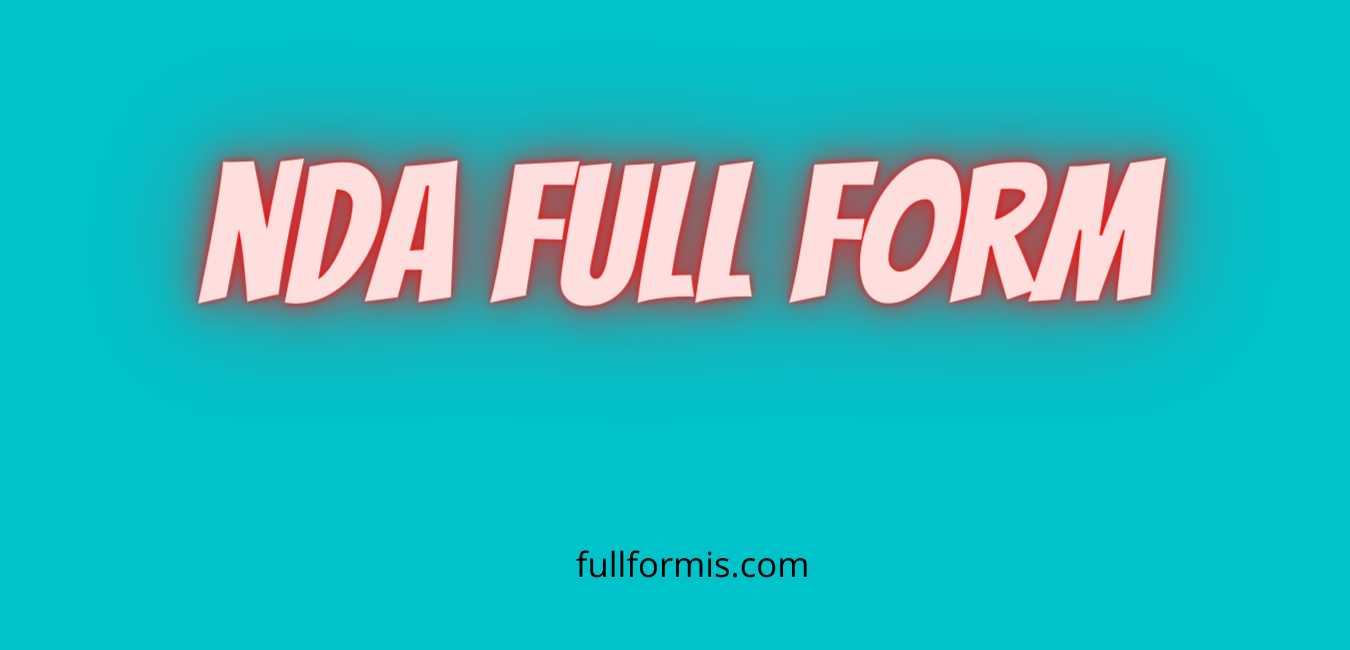 nda full form