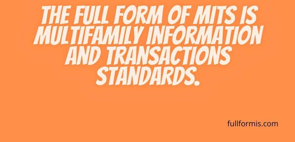 mits full form