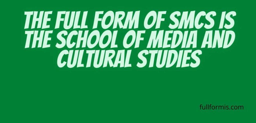 SMCS full form